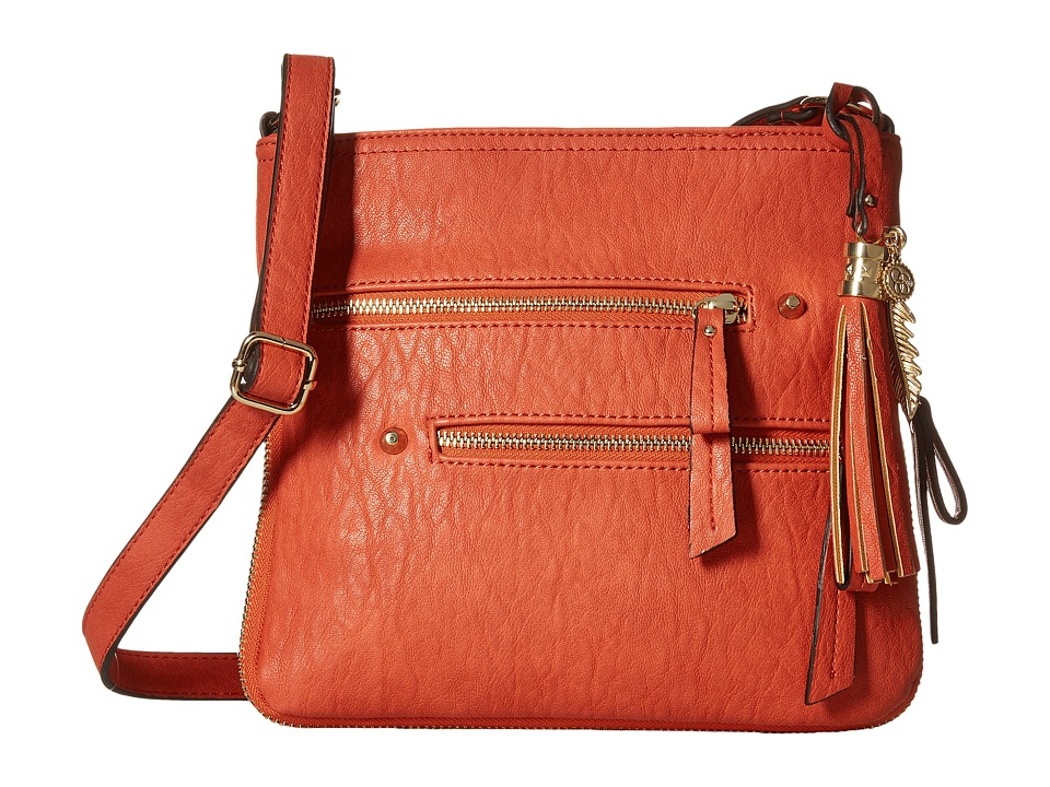Jessica Simpson - Skylar Crossbody (Burnt Orange) Cross Body Handbags