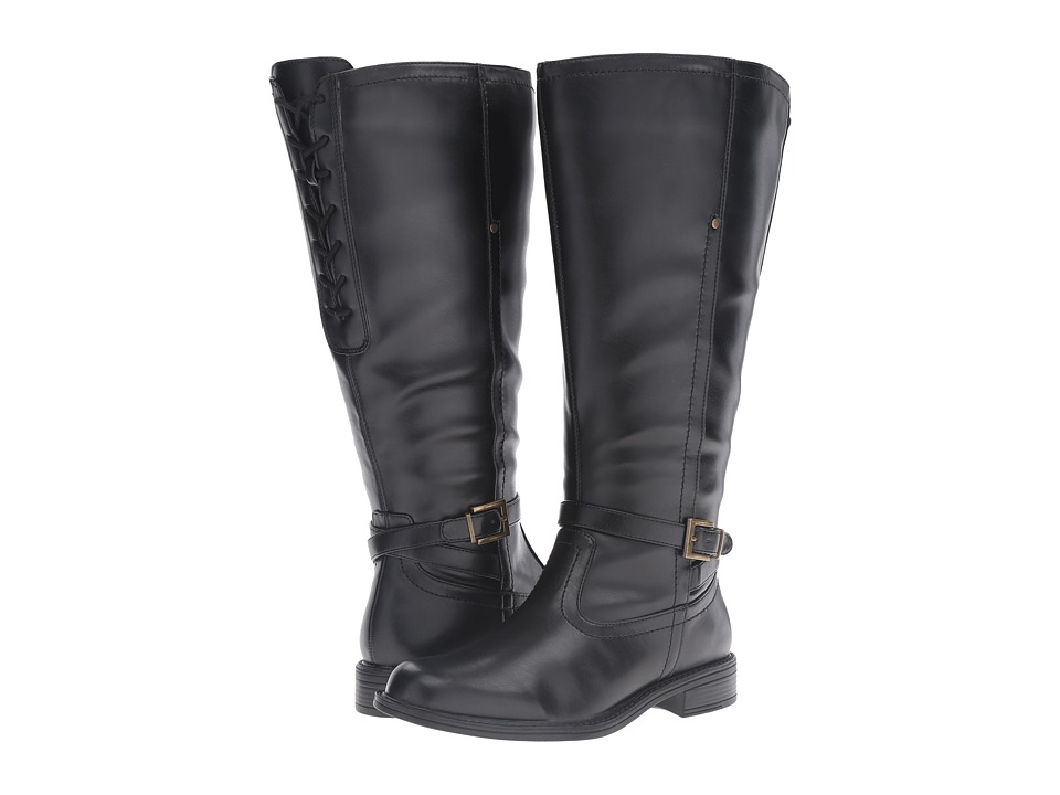 David Tate - Valley 18 Wide Shaft (Black) Women's Boots