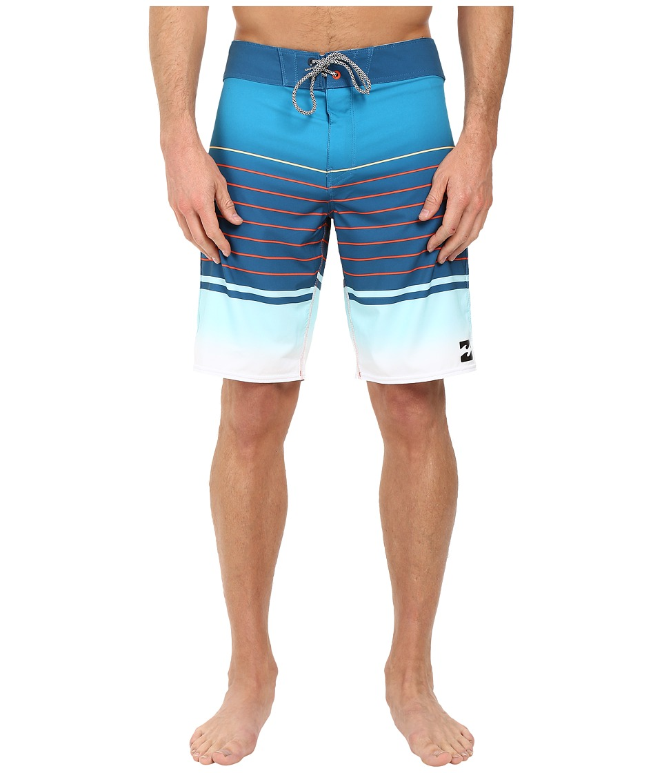 Billabong - Line Up X 20 Boardshorts (Ocean) Men's Swimwear