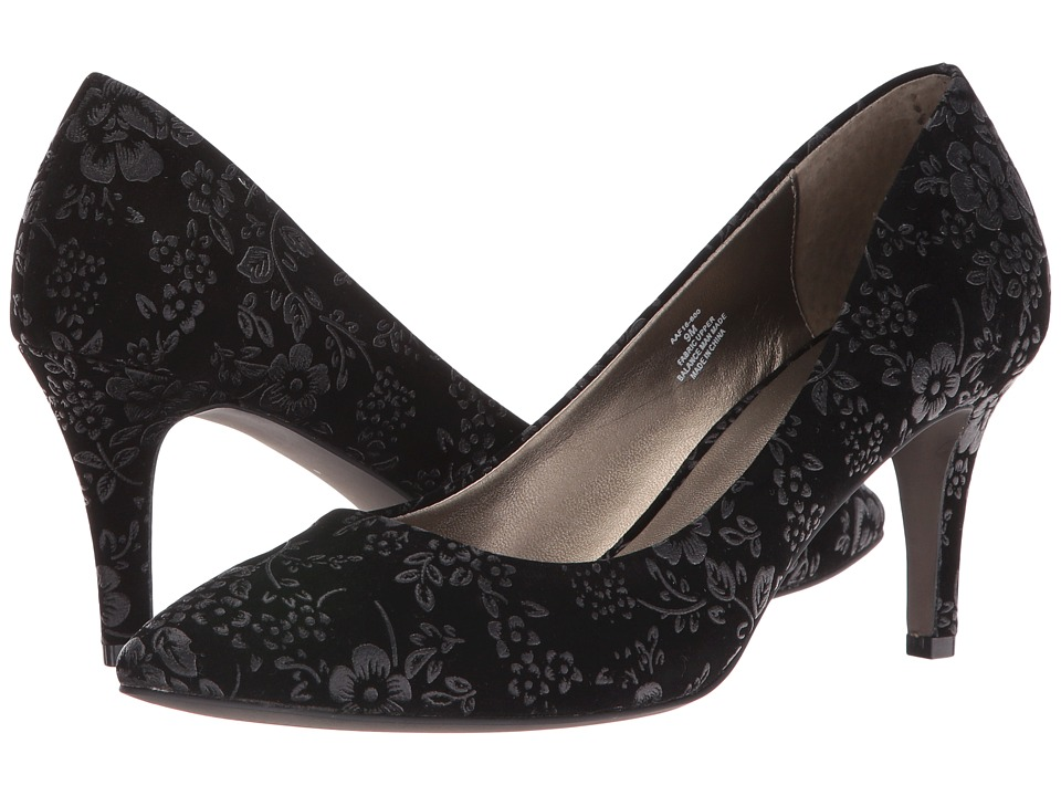 David Tate - Opera II (Black Floral) Women's Boots