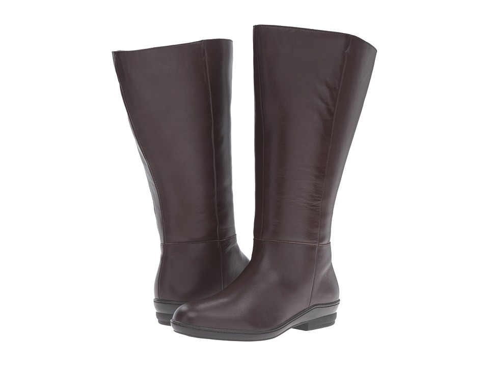 David Tate - Madison 18 Wide Shaft (Brown) Women's Boots