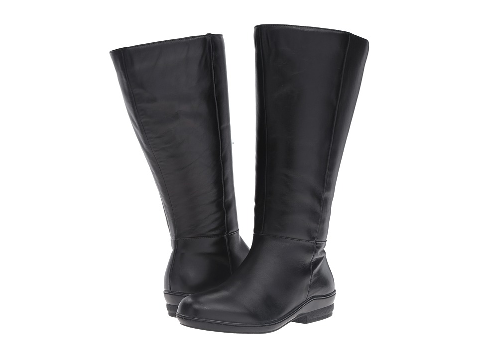 David Tate - Madison 18 Wide Shaft (Black) Women's Boots