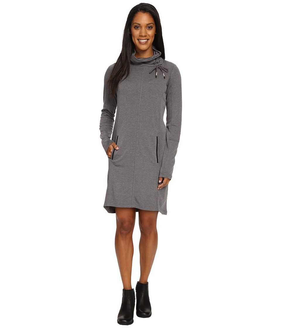 Lole - Call Me Dress (Black Heather) Women's Dress