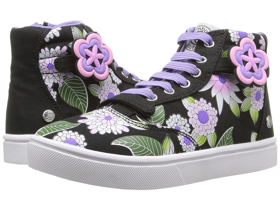 Bumbums & Baubles - Brooklyn II Hi-Top Sneaker (Toddler/Little Kid/Big Kid) (Garden) Girl's Shoes