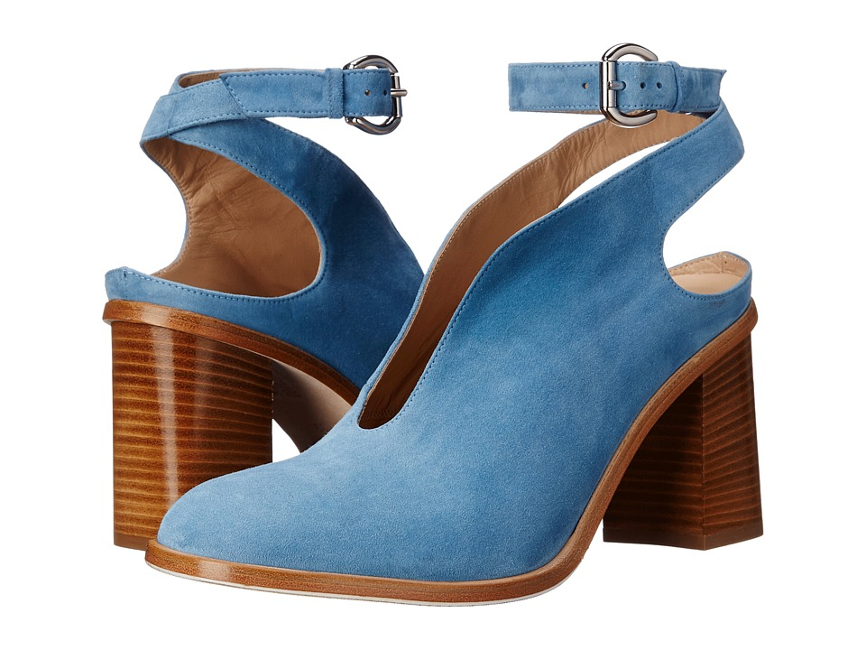 ASKA - Madlyn (Blue Suede) High Heels
