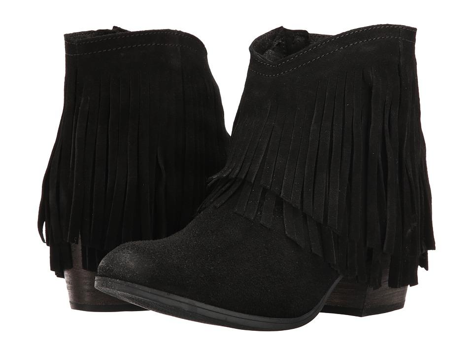 Taos Footwear - Shag (Black Suede) Women's Shoes