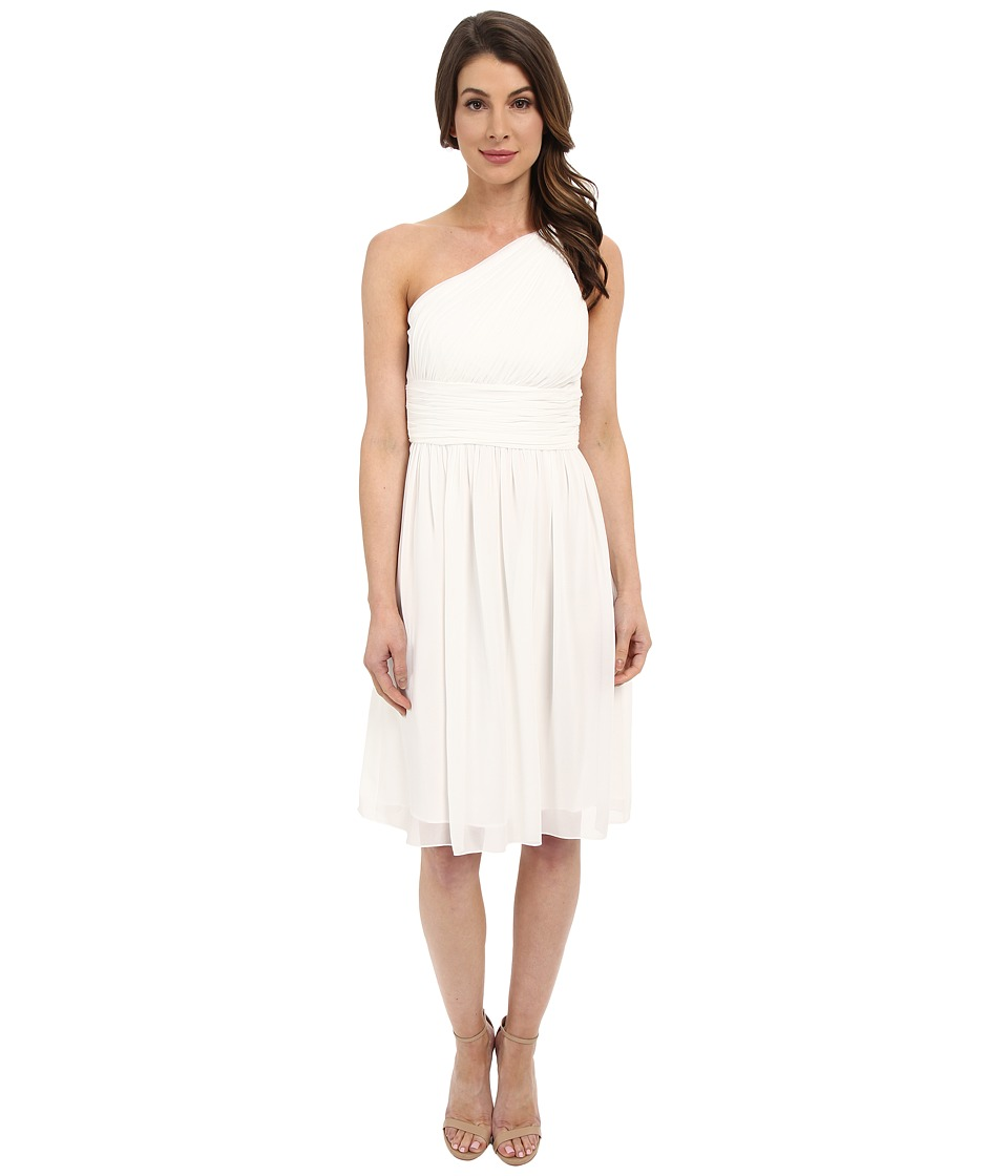 Donna Morgan - Rhea One-Shoulder Dress (White Lily) Women's Dress