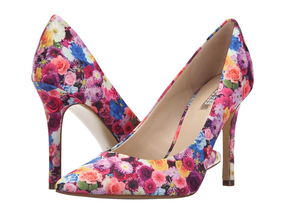 GUESS - Eloy (Floral Fabric) High Heels