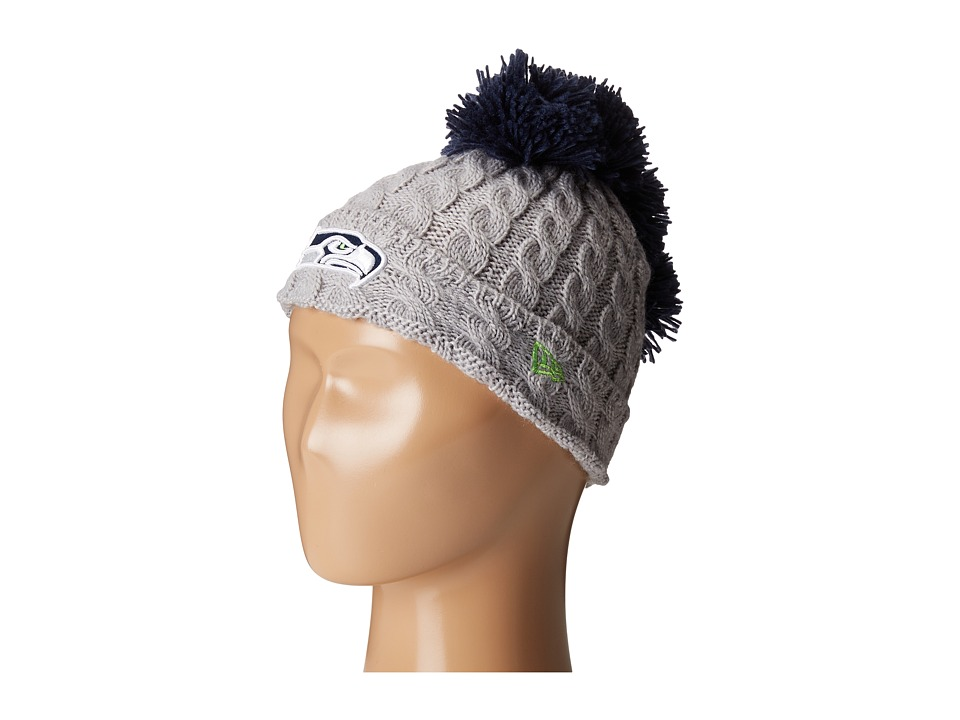 New Era - Pom Quad Seattle Seahawks (Grey) Caps
