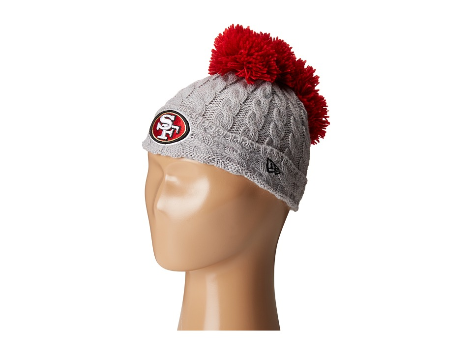 New Era - Pom Quad San Francisco 49ers (Grey) Caps
