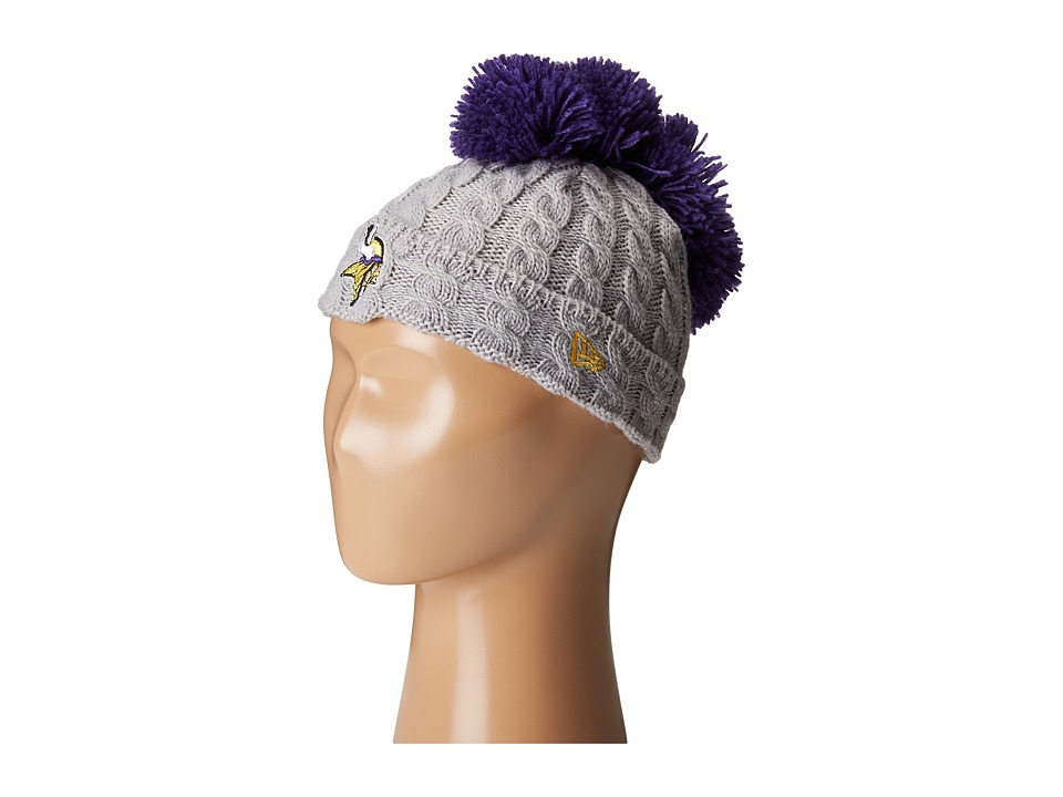 New Era - Pom Quad Minnesota Vikings (Grey) Caps