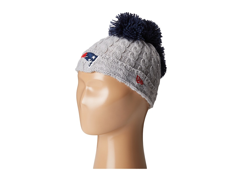 New Era - Pom Quad New England Patriots (Grey) Caps