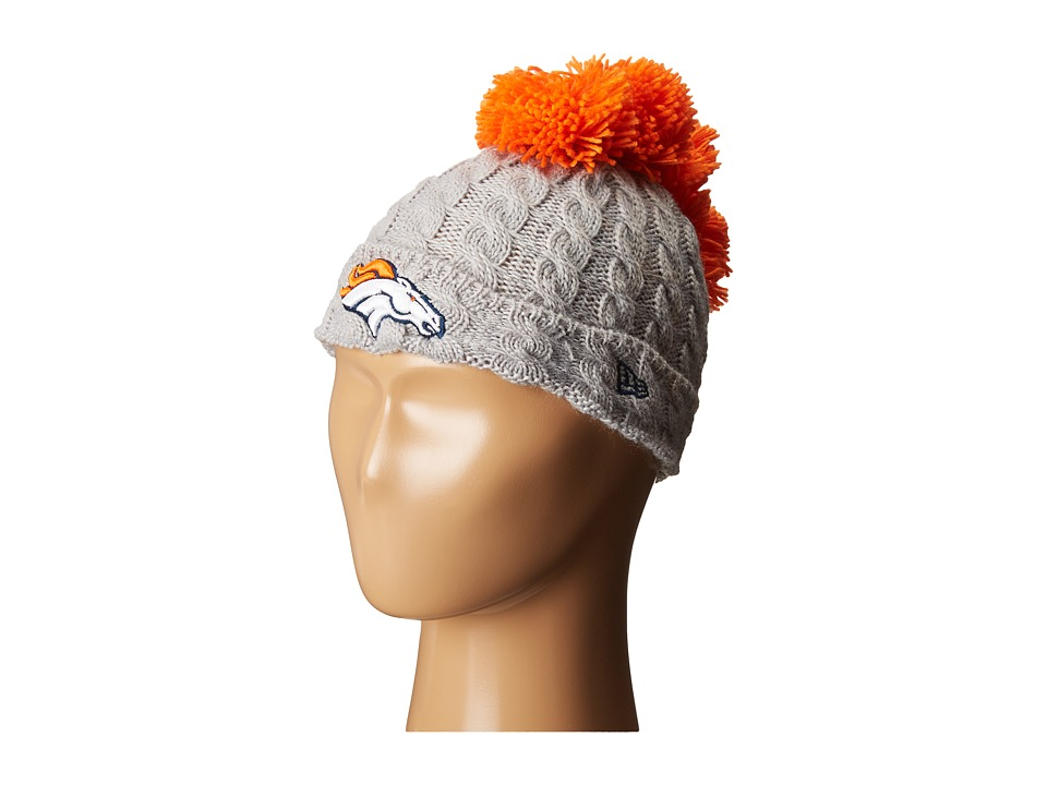 New Era - Pom Quad Denver Broncos (Grey) Caps