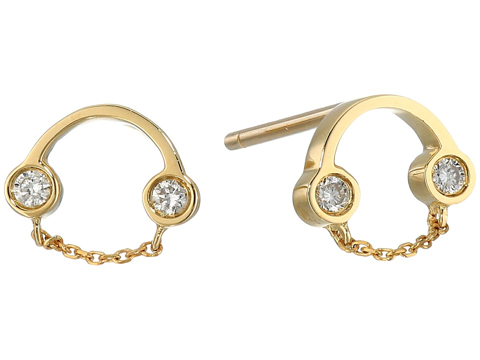 RUIFIER - Belle Studs (9ct Yellow Gold) Earring