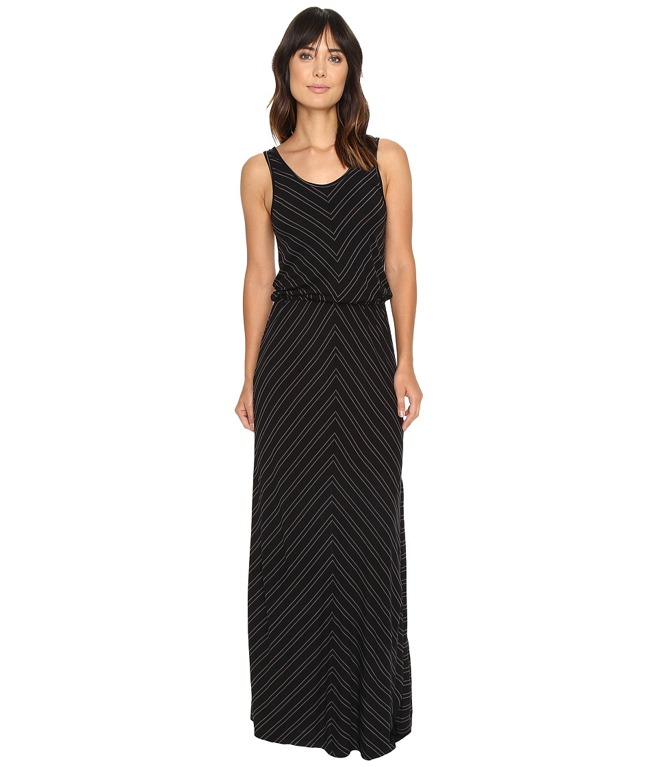 Rip Curl - Nightline Maxi Dress (Black) Women's Dress