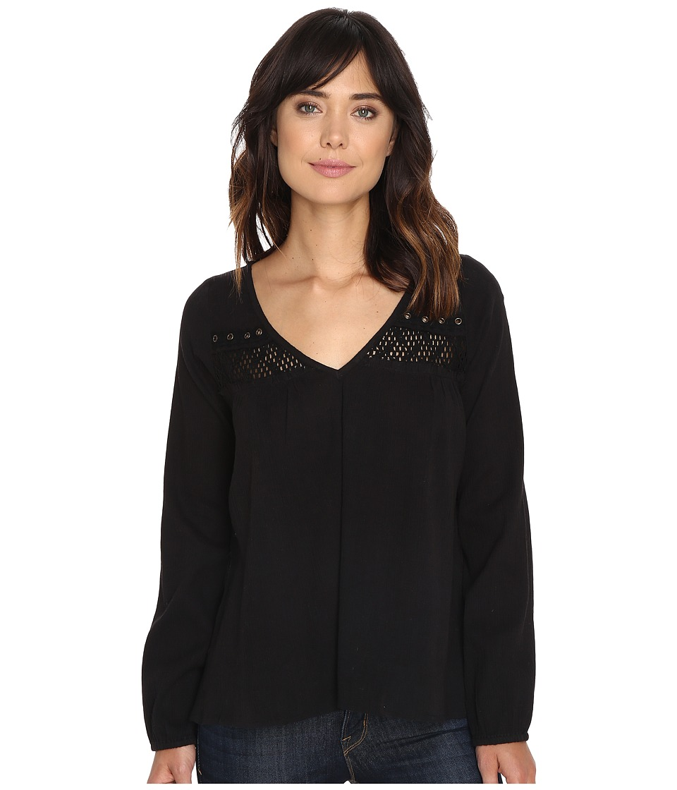 Rip Curl - Westway Top (Black) Women's Clothing