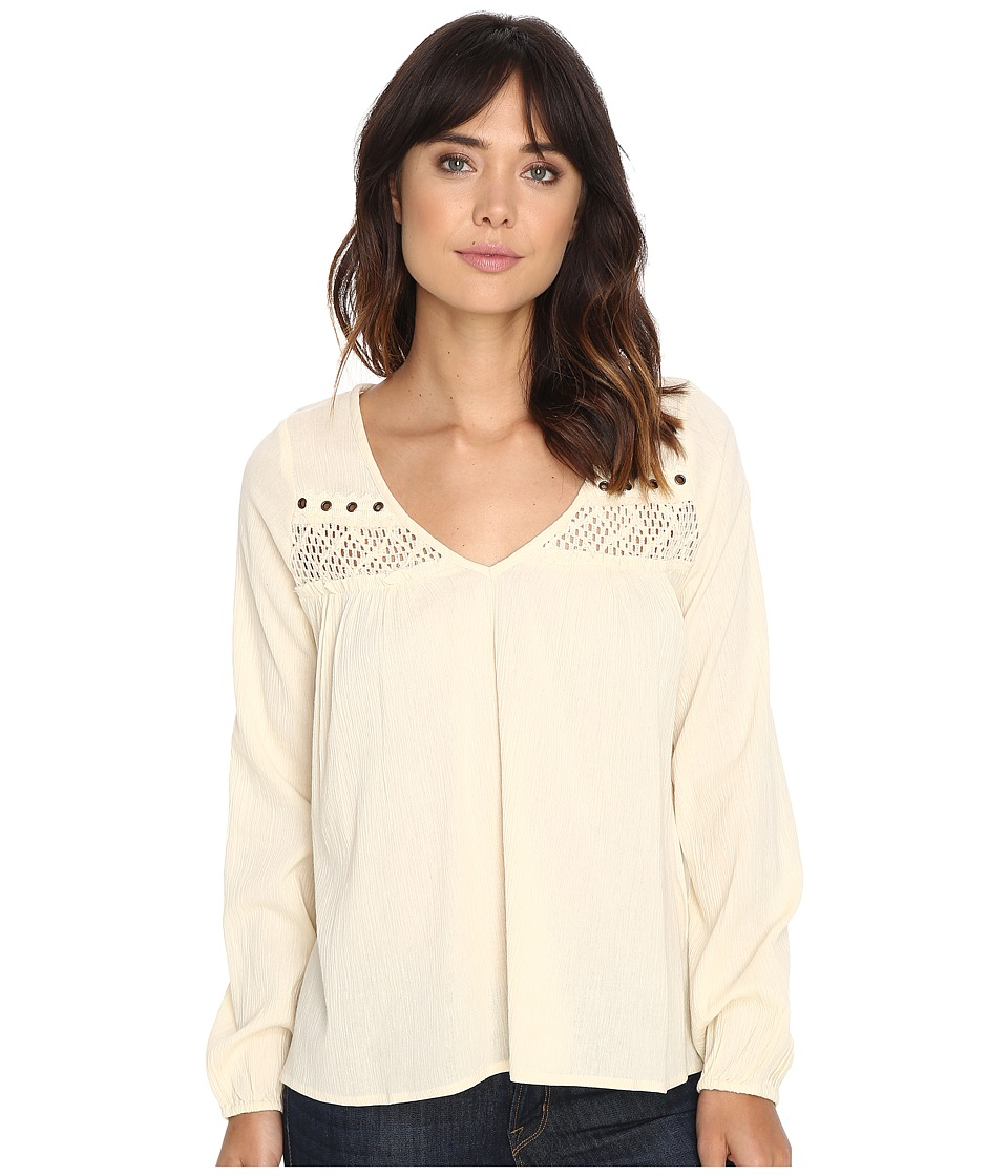 Rip Curl - Westway Top (Natural) Women's Clothing