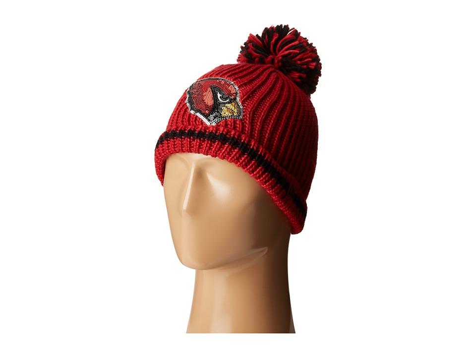 New Era - Sequin Frost Arizona Cardinals (Dark Red) Caps