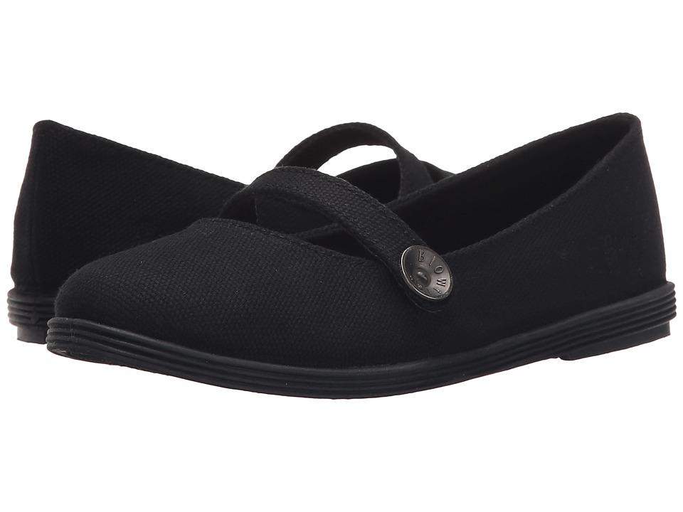 Blowfish Kids - Gino-K (Solid Black 20 Oz Canvas) Girl's Shoes