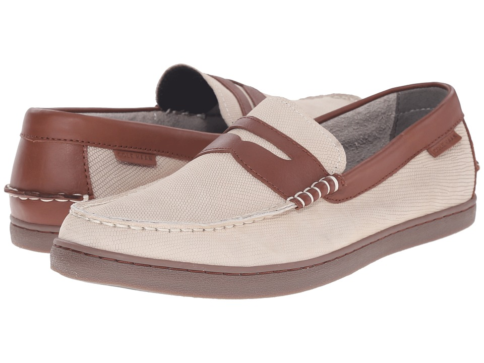 Cole Haan - Nantucket Loafer (Oyster Grey Suede) Men's Shoes