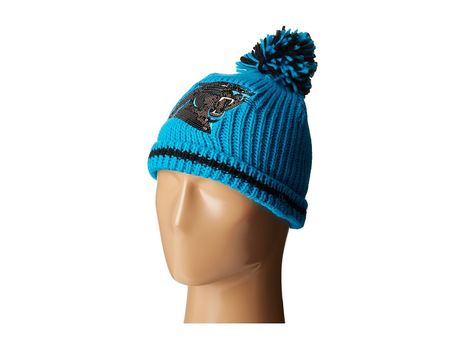 New Era - Sequin Frost Carolina Panthers (Bright Blue) Caps