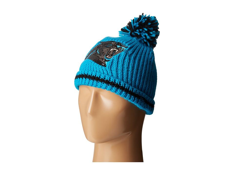 New Era - Sequin Frost Carolina Panthers (Bright Blue) Caps