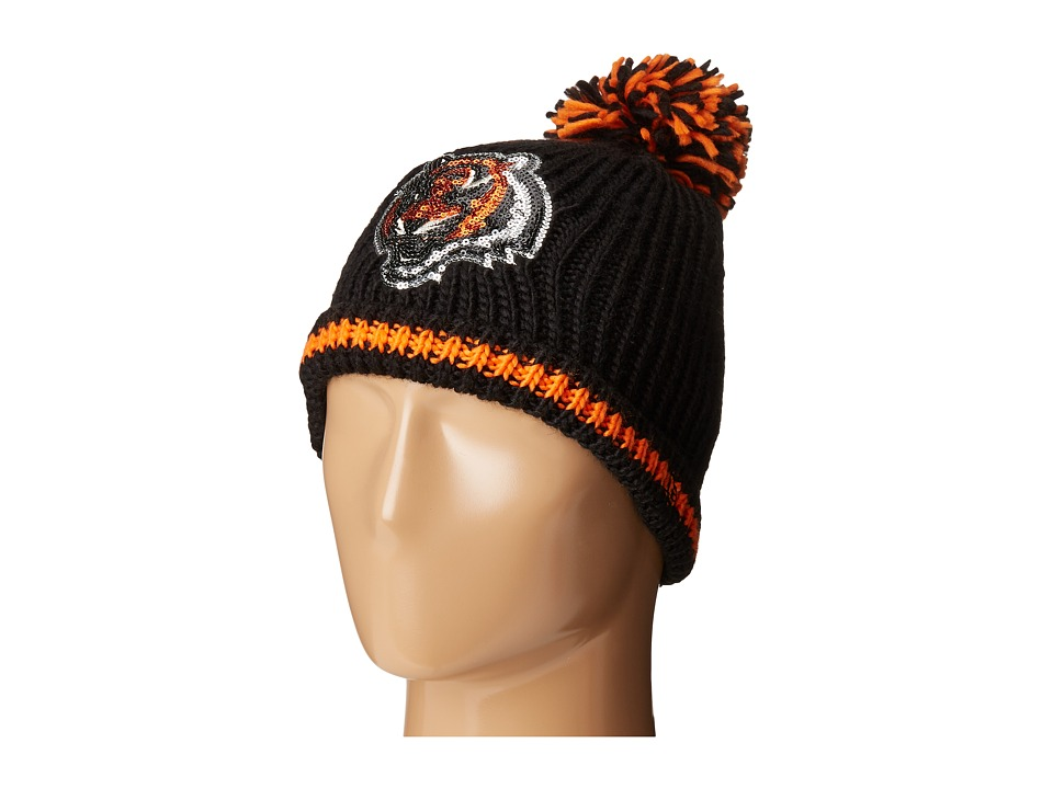 New Era - Sequin Frost Cincinnati Bengals (Black) Caps