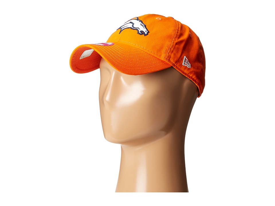 New Era - Team Glisten Denver Broncos (Orange) Caps