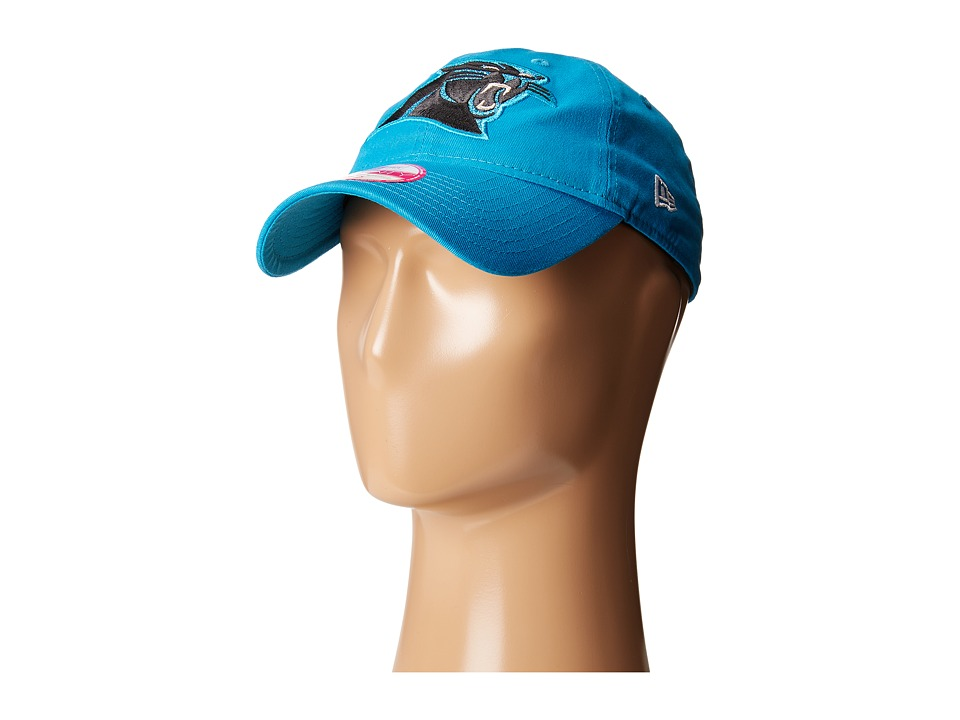 New Era - Team Glisten Carolina Panthers (Bright Blue) Caps