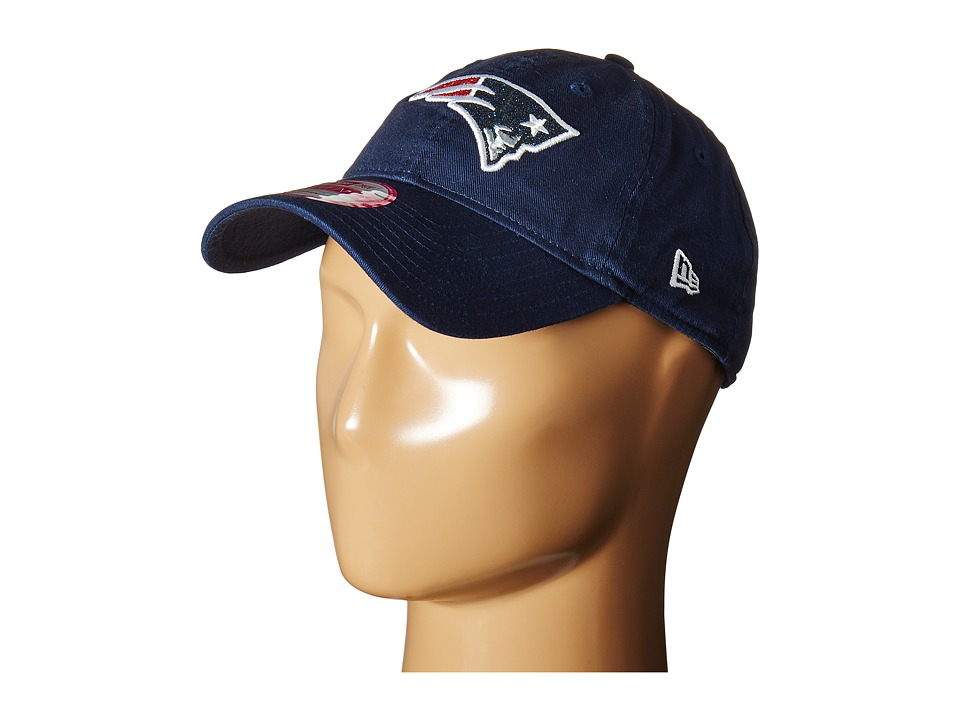 New Era - Team Glisten New England Patriots (Purple) Caps