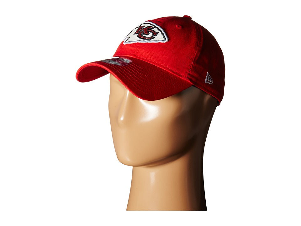New Era - Team Glisten Kansas City Chiefs (Red) Caps