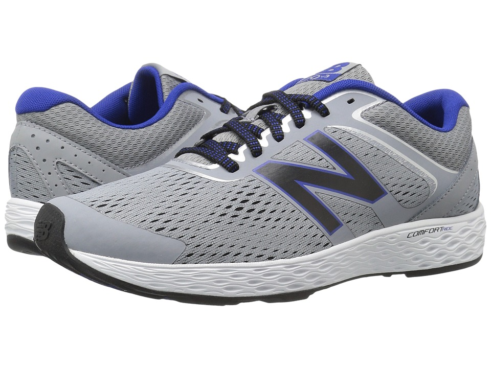 New Balance - M520LS3 (Silver/Blue) Men's Shoes