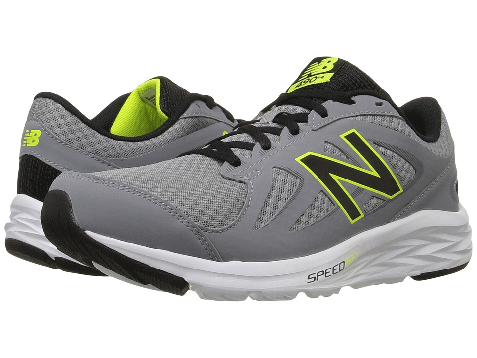 New Balance - M490LS4 (Silver/Black) Men's Shoes