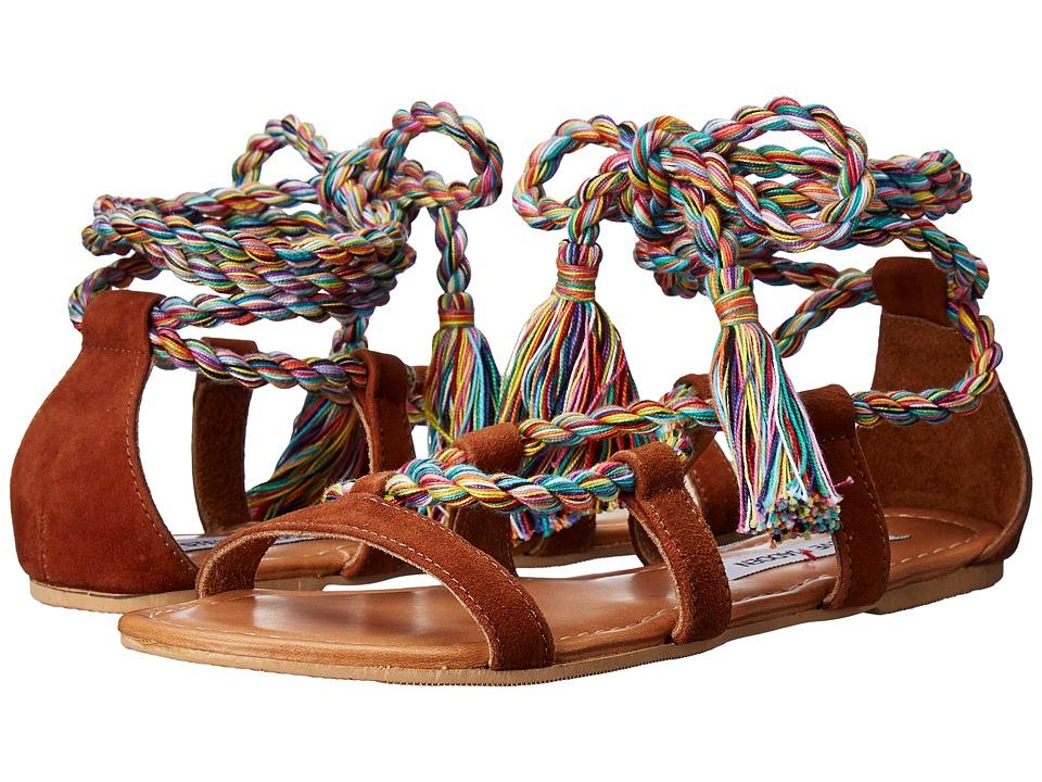 Steve Madden - Arysta (Chestnut Suede) Women's Sandals