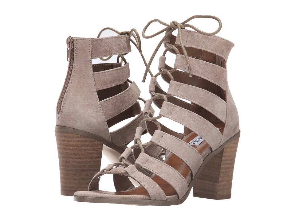 Steve Madden - Dayyna (Taupe Leather) High Heels