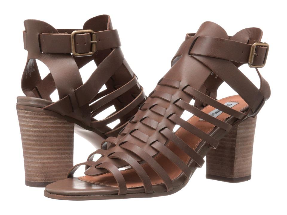 Steve Madden - Stellaah (Brown Leather) High Heels