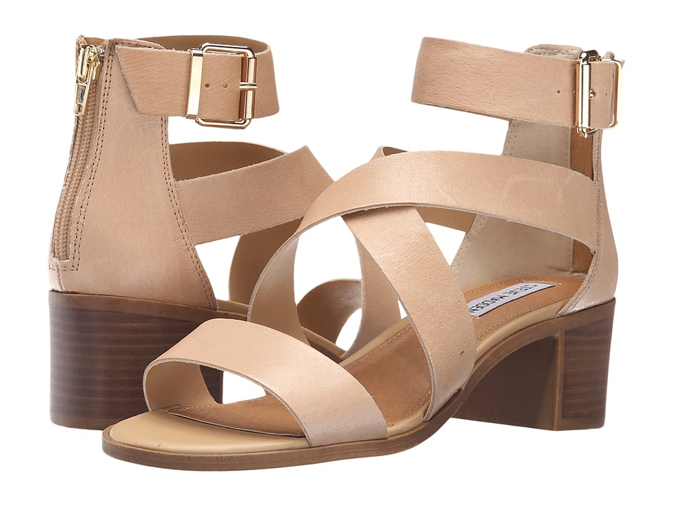 Steve Madden - Raeleen (Natural Leather) High Heels