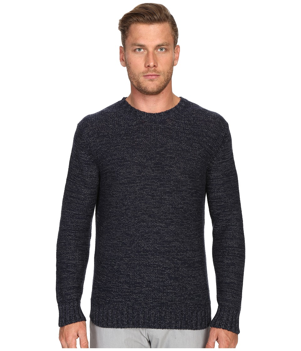 Todd Snyder - Twist Stitch Crew Sweater (Navy) Men's Sweater