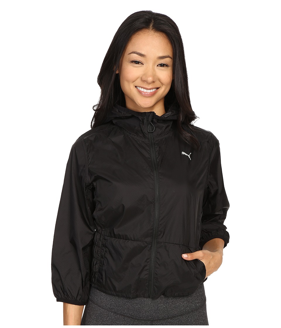 PUMA - WT Clash Woven Jacket (Black) Women's Coat