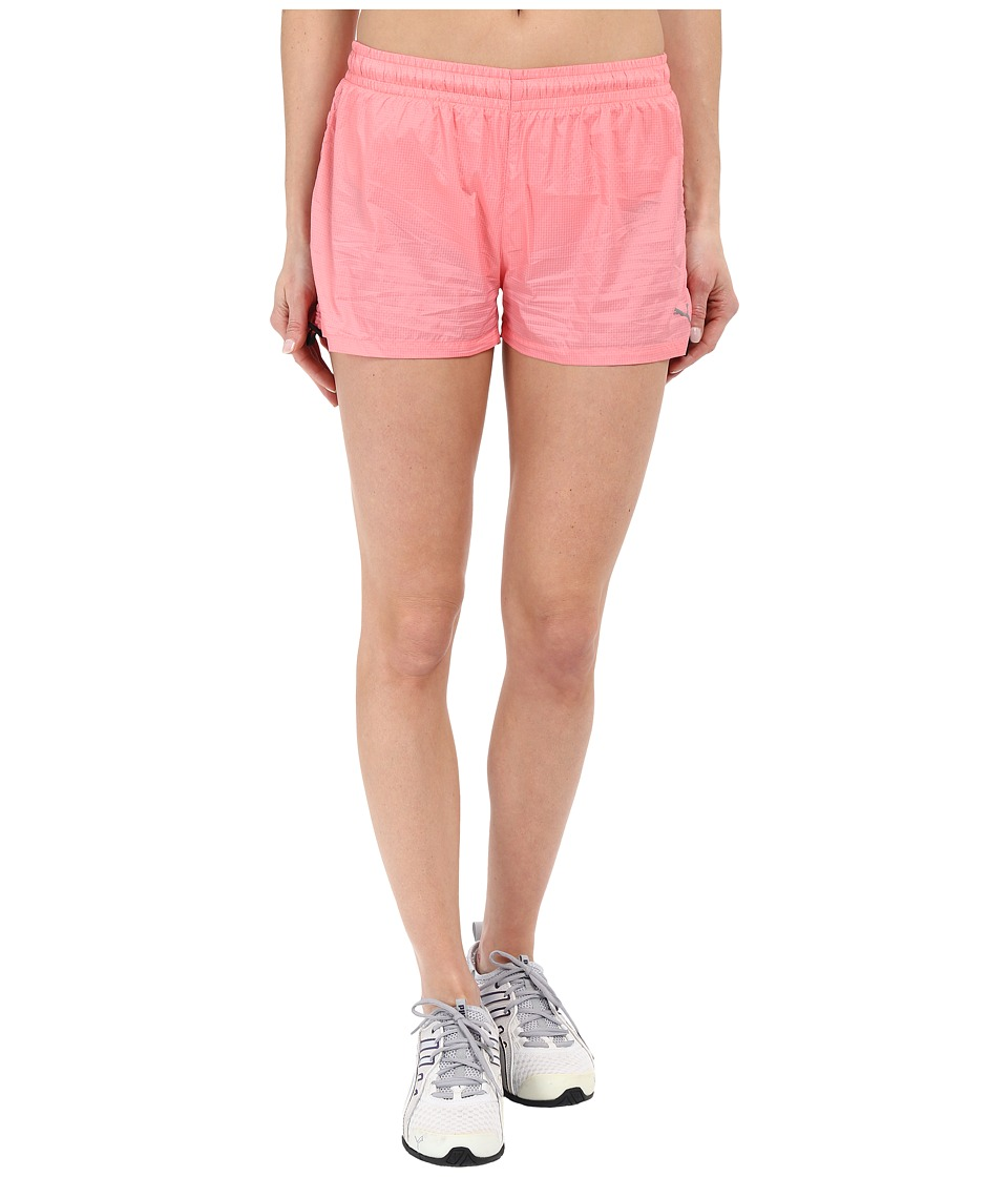 PUMA - WT Woven Gym Shorts (Salmon Rose) Women's Shorts