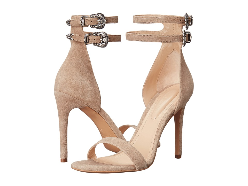 The Kooples - Noemie - New Vintage Leather (Beige) High Heels