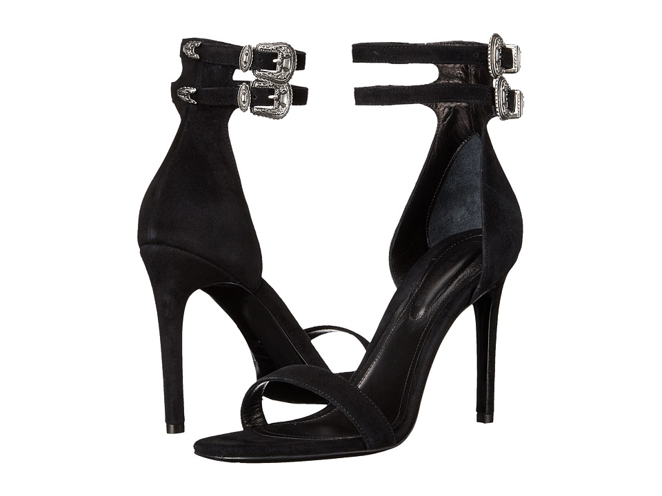 The Kooples - Noemie - New Vintage Leather (Black) High Heels