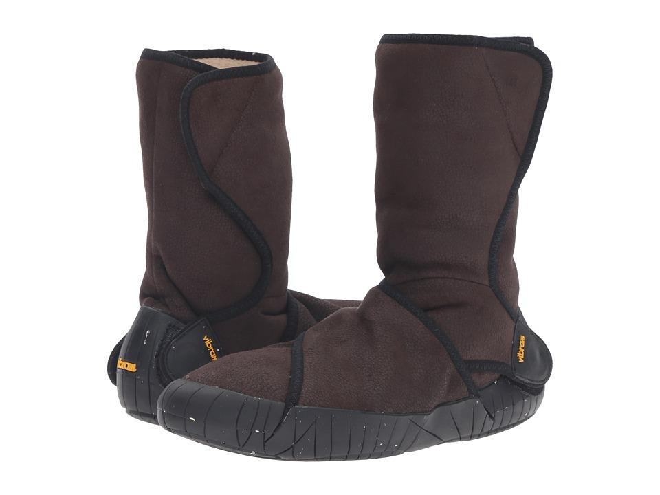 Vibram FiveFingers Furoshiki Shearling Boot (Dark Brown) Boots