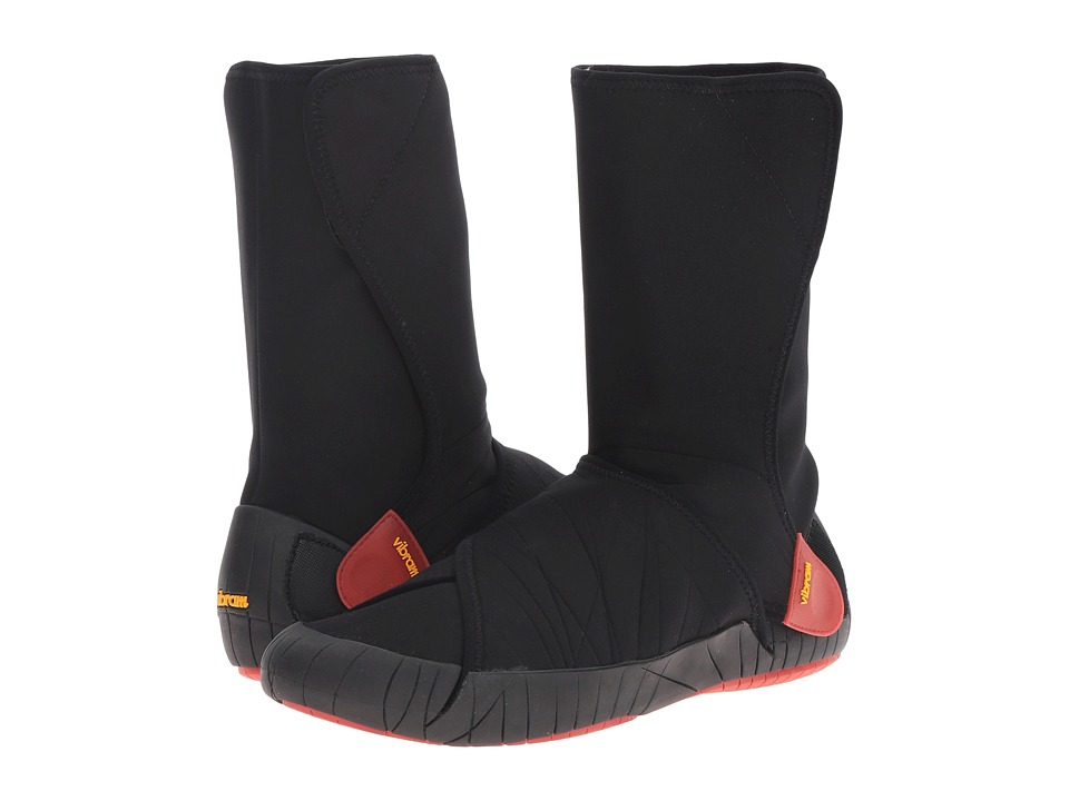 Vibram FiveFingers Furoshiki Neoprene Boot (Black/Red) Women