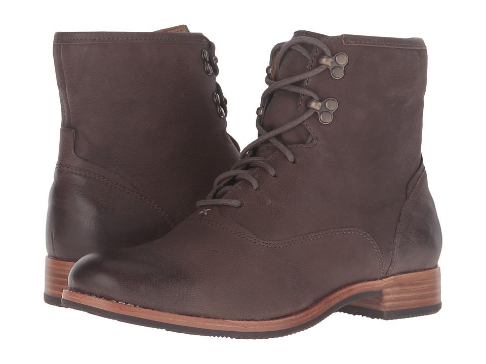 Sebago Jayne Mid Boot (Dark Taupe Leather) Women