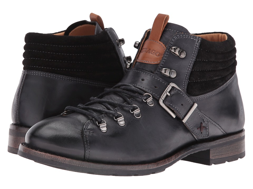 Sebago Laney Hiker (Black Leather) Women