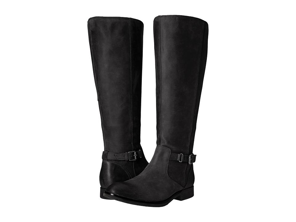 Sebago Nashoba High Boot Waterproof (Black Leather) Women