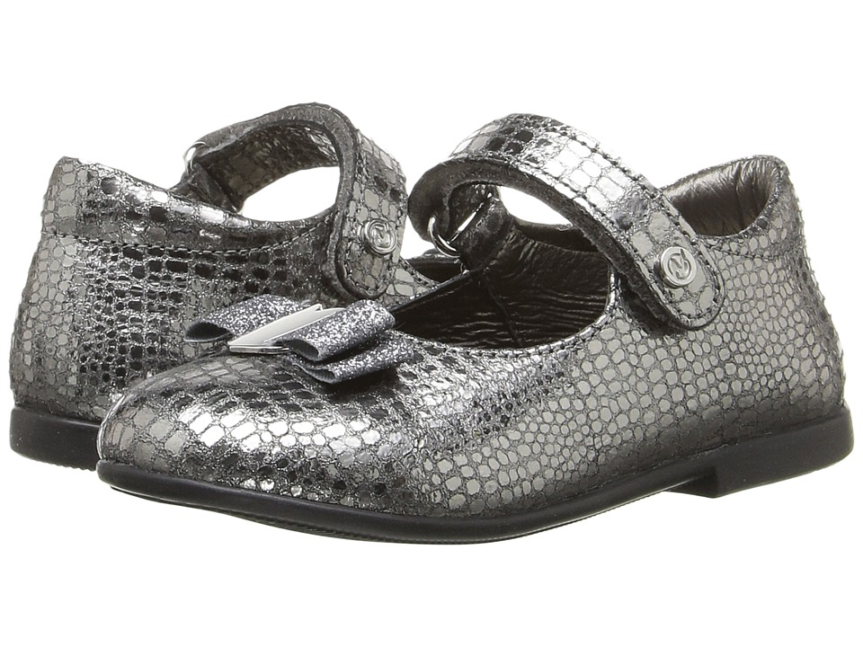 Naturino - Nat. 4891 AW16 (Toddler) (Silver) Girls Shoes