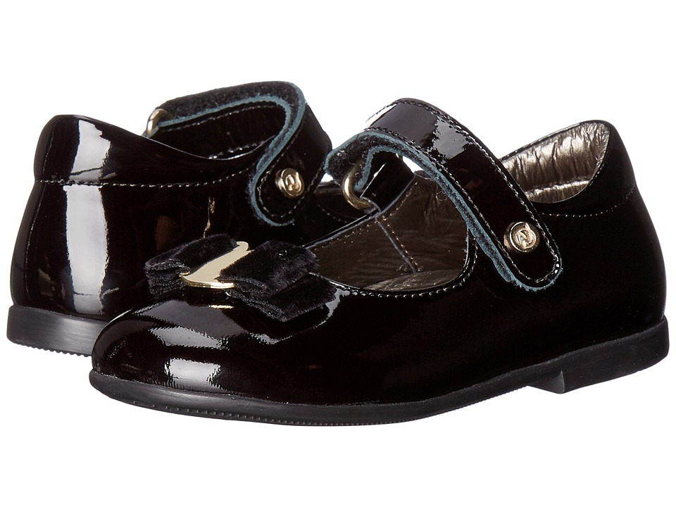 Naturino - Nat. 4891 AW16 (Toddler) (Black) Girls Shoes