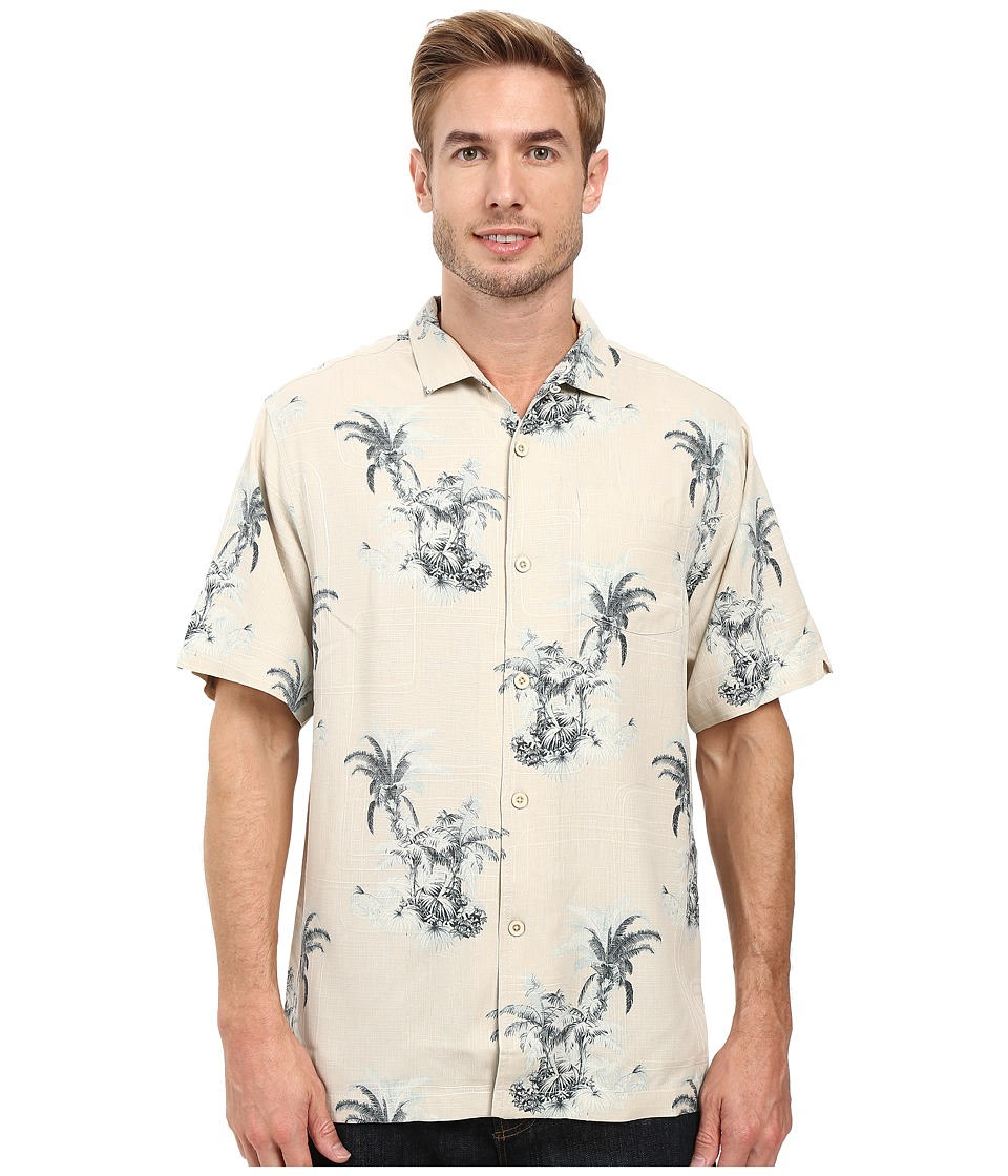 Tommy Bahama - Where The Palm Frond Grows Shirt (Vintage Khaki) Men's Clothing